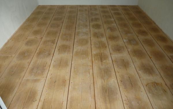 Kaasplanken vloer