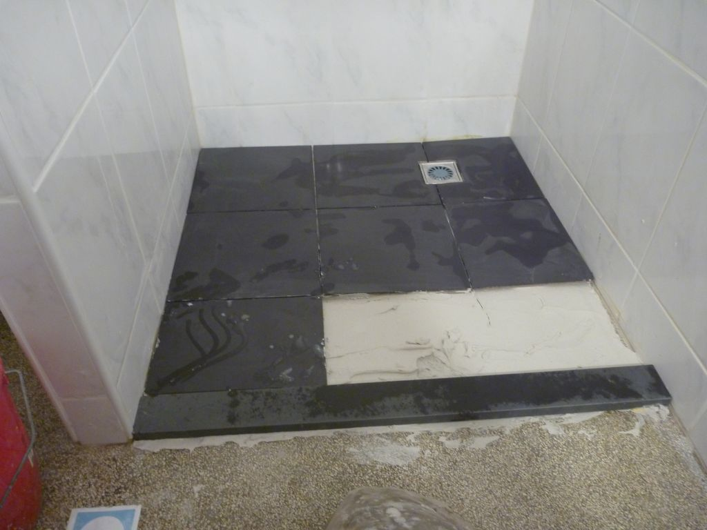 Badkamer vloer renovatie - Badkamer vloer ...