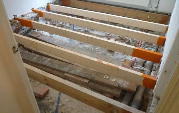 Renovatie vloerbalken & isolatie